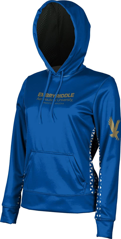 School Spirit Sweatshirt Geo Embry-Riddle Aeronautical University Prescott Womens Pullover Hoodie