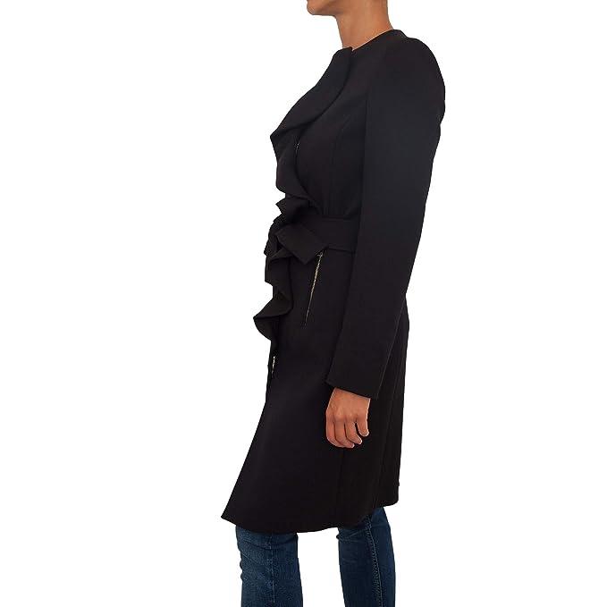 Cappotto Liu Jo Donna I68126 T2159 22222 Nero II198I68126-T215922222   Amazon.it  Abbigliamento ee1618fd91a