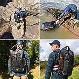 Cougar OUTDOOR Waterman' Waterproof Backpack, Heavy Duty Dry Bag Rucksack – Large 40L Sack, Best For Hiking, Kayaking and Watersports