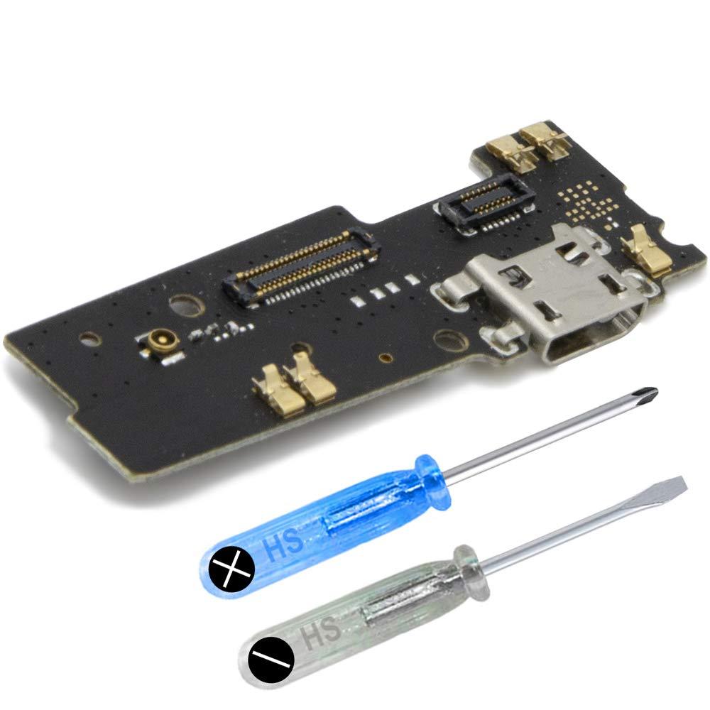 Puerto de Carga para Motorola Moto E4 Plus 5.5 pulgadas incl