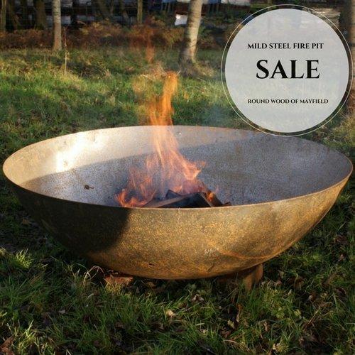 Steel Bowl Dish Wood Burner/Fire Pit