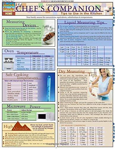 Chef'S Companion (Quick Study Home) pdf