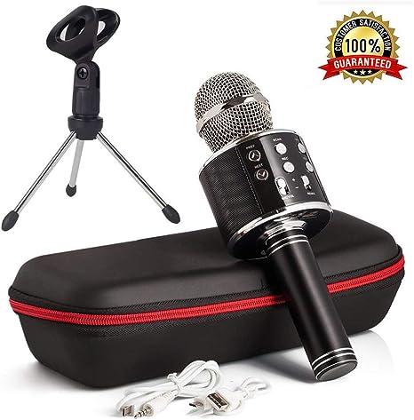 FSM88 Micrófono Inalámbrico De Mano, Karaoke Micrófono Inalámbrico ...