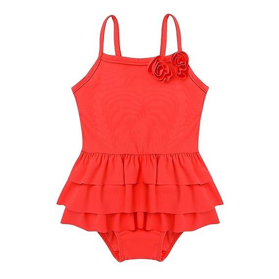 lowest price 03dd2 ada81 iiniim Baby Mädchen Einteiler Badeanzug Schwimmanzug Säugling Bademode  Tankini Badebekleidung Gr.50-98