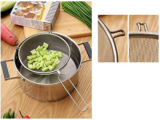 15cm Stainless Steel Flour Sifter Flour Colander Sifter Kitchen Baking Tool