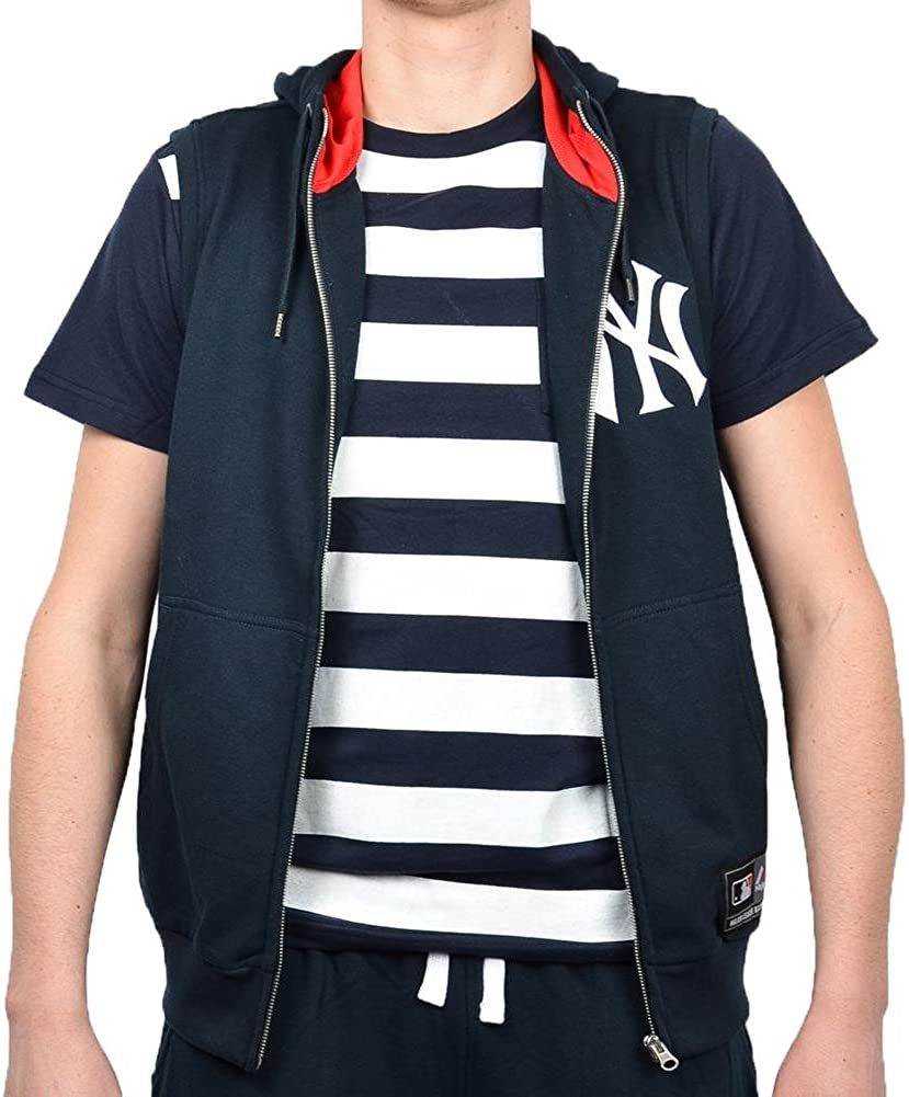 Majestic Chaleco MLB New York Yankees Manial Negro/Blanco Talla: M ...