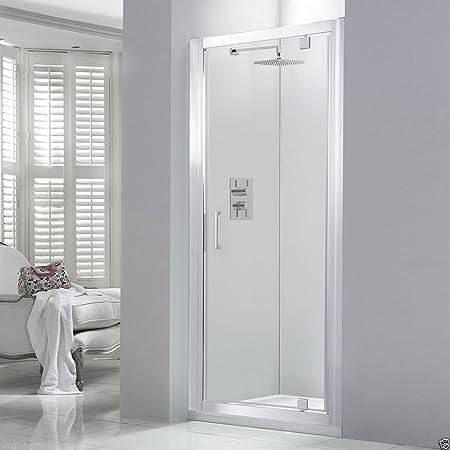 800 x 1950 mm mampara de ducha con mampara de cristal de seguridad ...