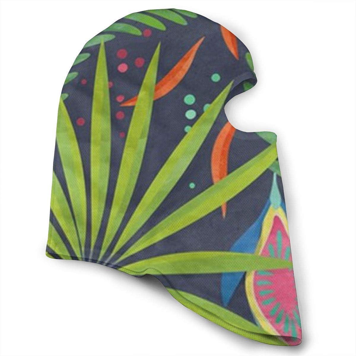 CAClifestyle Tropical Fruits Unisex Windproof Balaclavas Full Face Mask Hood