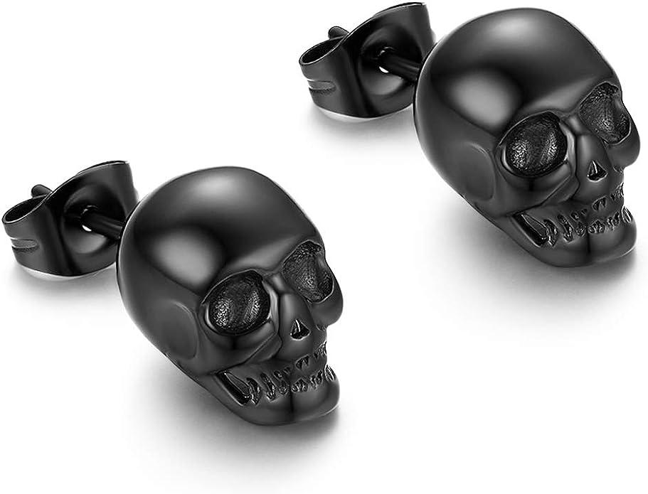 Acheter boucles d'oreille tete de mort online 1
