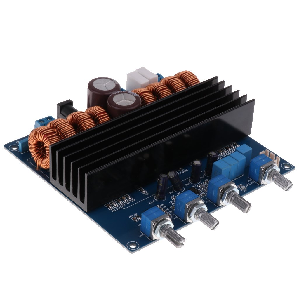 Baoblaze Digital Audio Power Amplifier Subwoofer Stereo Amp Board for Home Theater by Baoblaze
