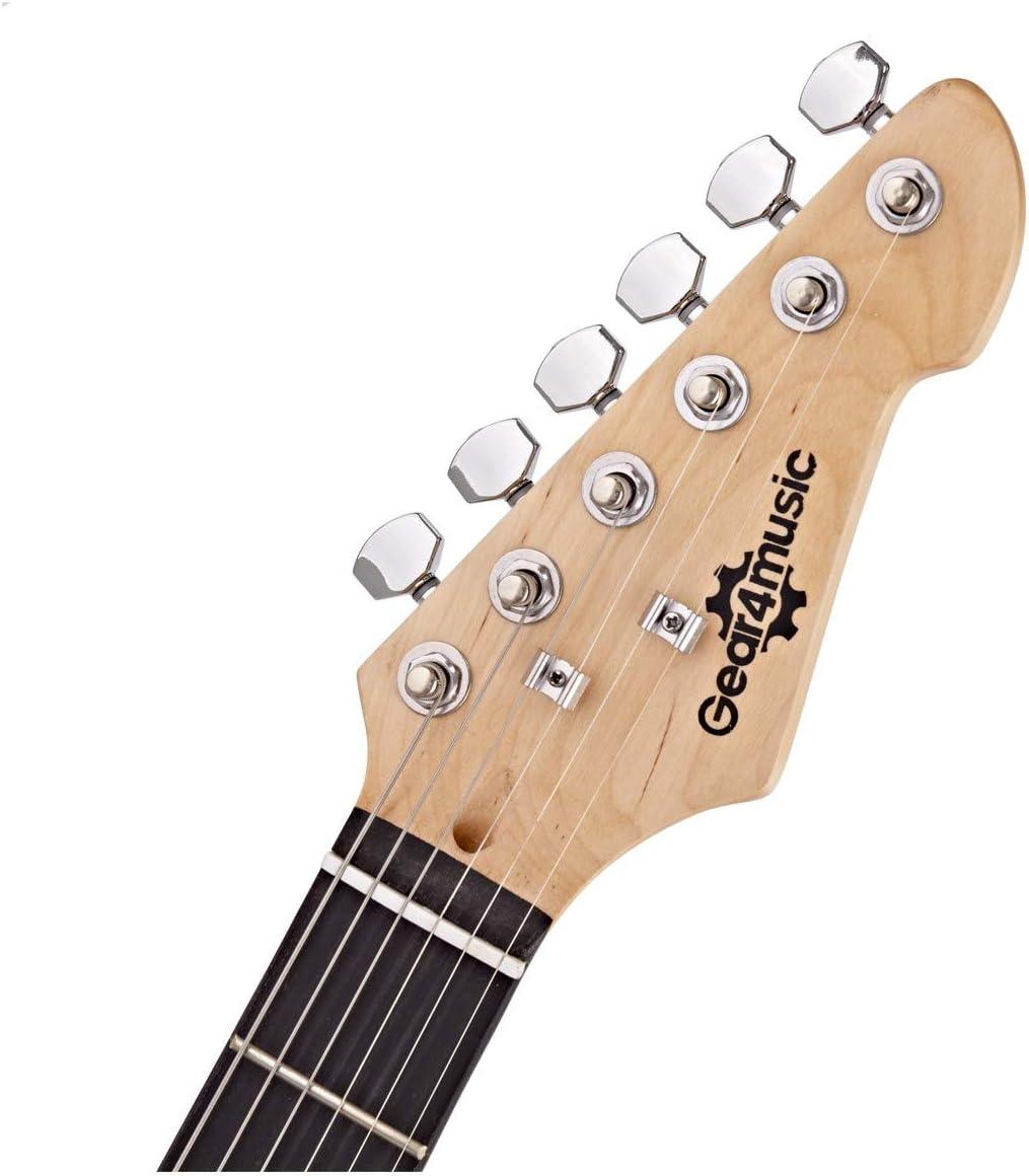 LA Electric Guitar + 35W Complete Amp Pack Sunburst: Amazon.es ...