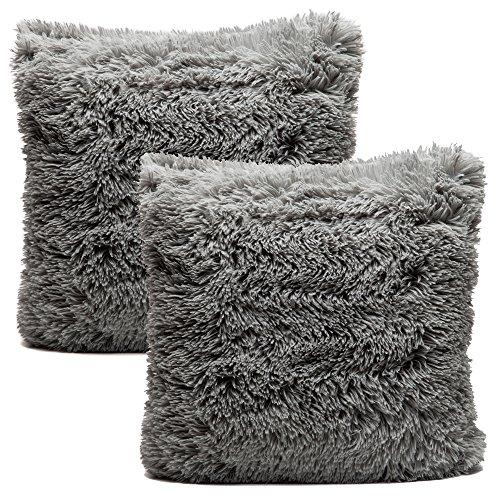Chanasya Super Soft Long Shaggy Chic Fuzzy Faux Fur Warm Ele