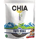 Happy Andes Premium Black Chia Seeds, 48 Oz
