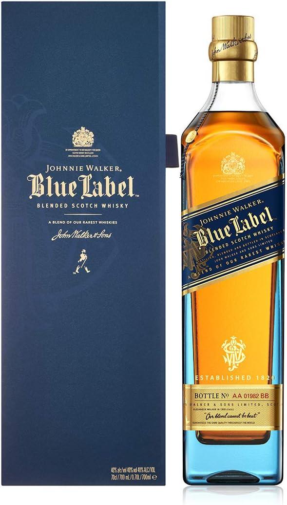 Johnnie Walker Blue whisky esconcés - 700 ml