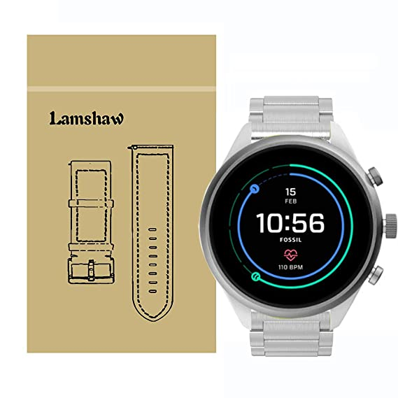 Amazon.com: Lamshaw for Fossil Sport Band, Stainless Steel ...
