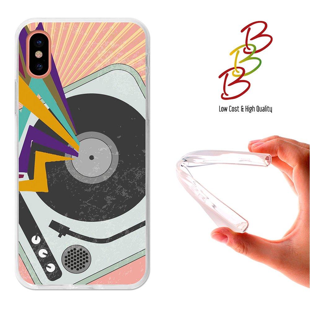 3B® - Funda Gel Flexible para iPhone X, Carcasa TPU Fabricada con ...
