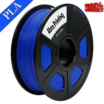 Abcs Printing-Blau Filamento PLA 1.75 mm filamento 3D PLA, peso ...