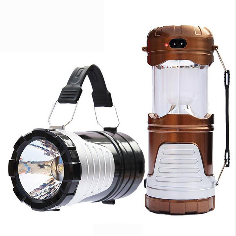 MIAO Camping-Laternen - Outdoor-Multi-Funktions-LED Solar Energy Notbeleuchtung / tragbare Zelte Lichter
