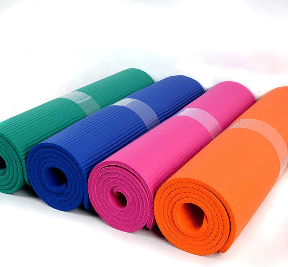 Yoga Mat 72.05 * 24.01 Non Slip Durable Eco Friendly Yoga Mat with Carrying Strap Pilates and Fitness Thick Exercise /& Workout Mat for Yoga