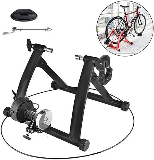 Rodillo para Bicicleta Casero El Sonido Es Pequeño Rodillo Bici para Spinning, Ejercicio, Fitness Y Entrenamiento,Negro: Amazon.es: Deportes y aire libre