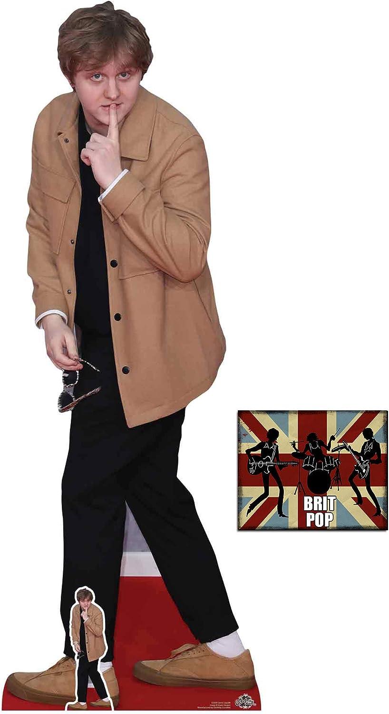 Lewis Capaldi Black Outfit Life Size Cutout