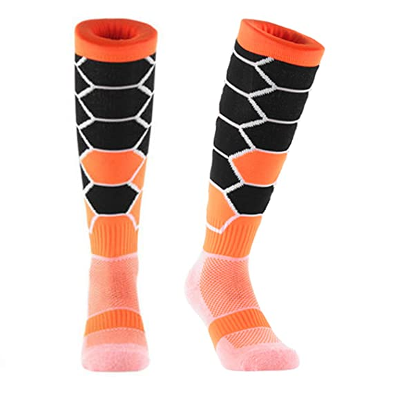 Samson Hosiery® Deporte hexagonal impresión Funky Novedad Moda Regalo Calcetines de fútbol RUGBY deportes y