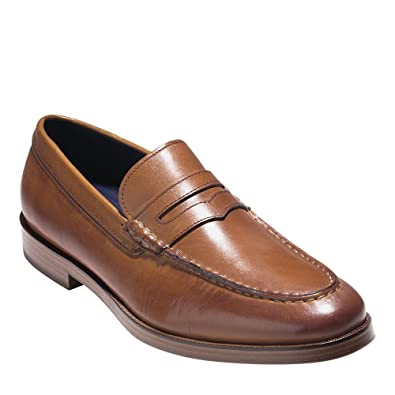bc839ba8290 Cole Haan Mens Hamilton Grand Penny Loafer 7 British Tan Leather