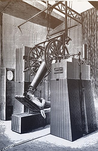 Telescope Paris Expo 1900 Poster Print by Science Source (24 x 36)