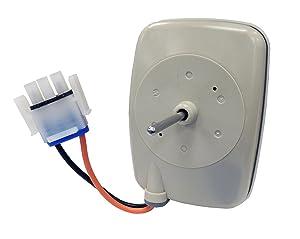 Supco SM10141 Refrigerator Freezer Evaporator Fan Motor Replaces WR60X10141, WR60X23584, WR60X10346, WR60X10045 (1-Pack)