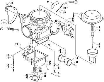 2007 arctic cat 500 atv wiring diagram amazon com carburetor for arctic cat prowler 650 prowler xt 650  arctic cat prowler 650 prowler xt 650