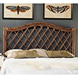 Safavieh Home Collection Gabriella Brown and Multi Wicker Headboard (Queen)