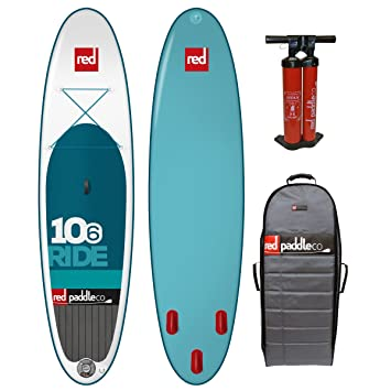 Red Paddle Co 10 6 Ride Inflatable Stand Up Paddle Board  Amazon.co ... dfa717e6c