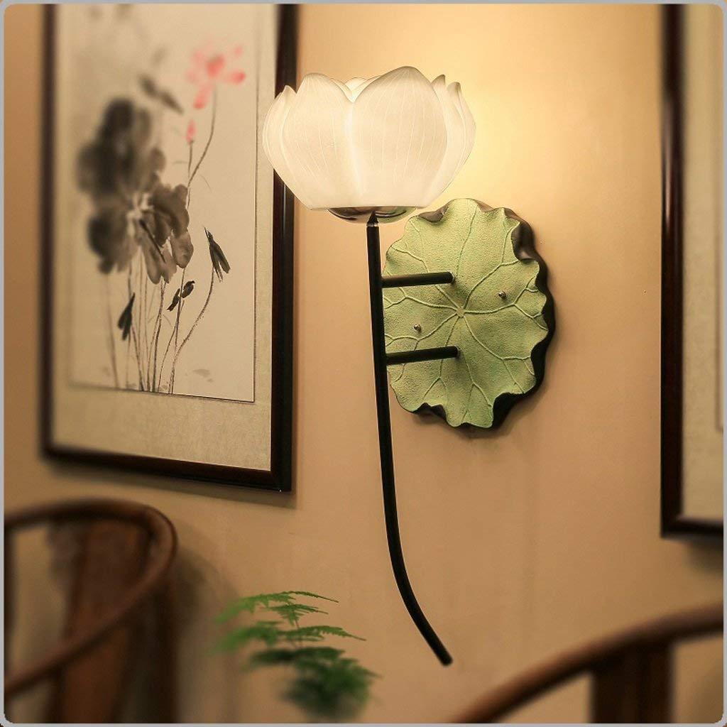 WHKHY Wall Lamp, Garden Furnishing Road Lights Show The Bedroom Night Table Lamp, B