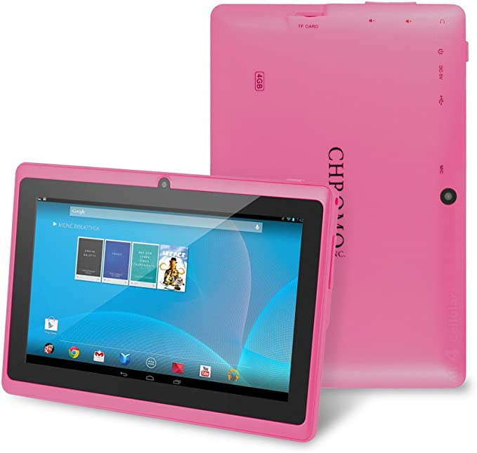 Chromo Inc 7-Inch Tablet, Pink