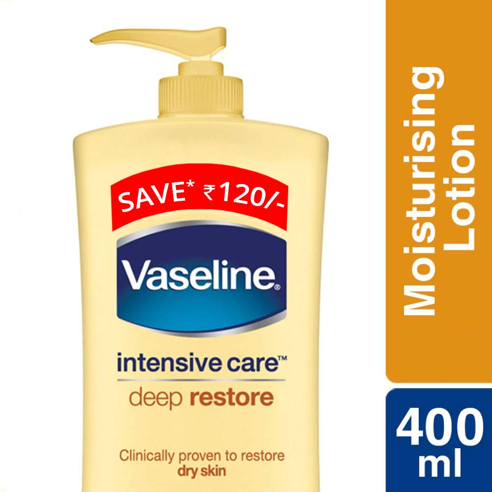 Vaseline Intensive Care Deep Restore Body Lotion, 400ml