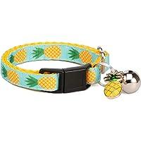 waaag Pet Supplies, (Tropical Pineapple) Cat Collar, Dog Collar, Cat Lead, Dog Lead, Small Dog Collar, Medium Dog Collar…