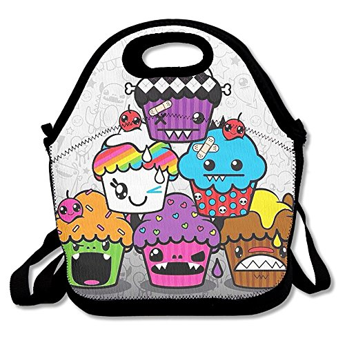 Cupcakes Reusable Picnic Lunch Bags Lunch Tote Lunch Box For Men Women Adults Kids Toddler Nurses