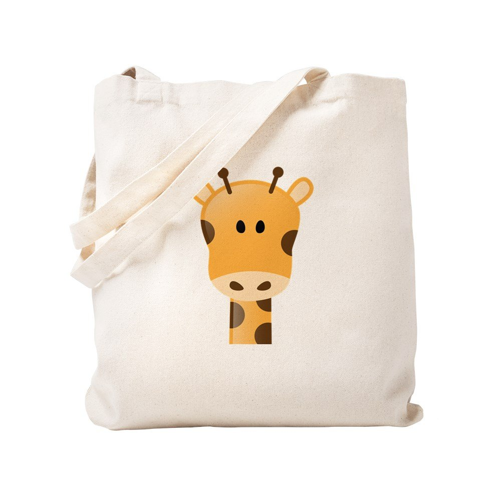 CafePress – キリン – ナチュラルキャンバストートバッグ、布ショッピングバッグ S ベージュ 1548970199DECC2 B0773V84M6 S