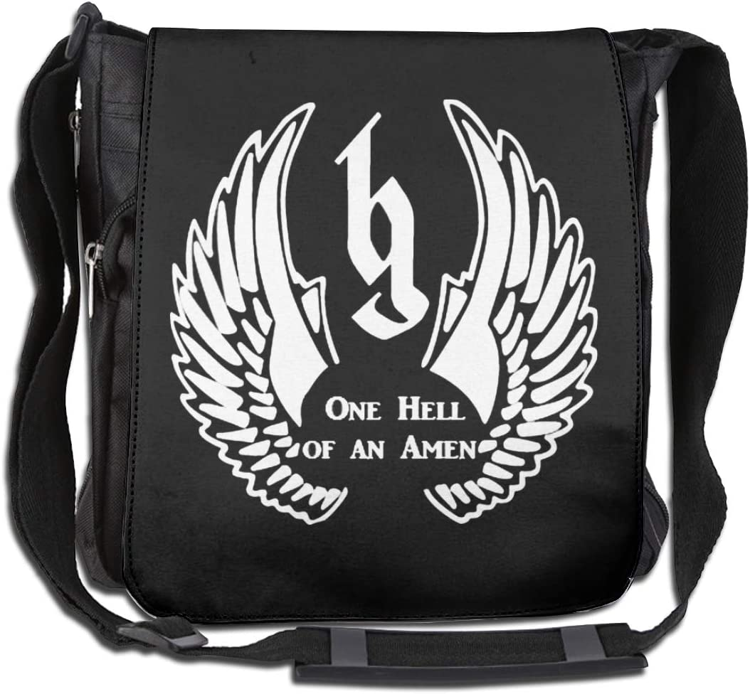 Brantley Gilbert Large Capacity Messenger Bag Shoulder Bag Simple Fashion Personality