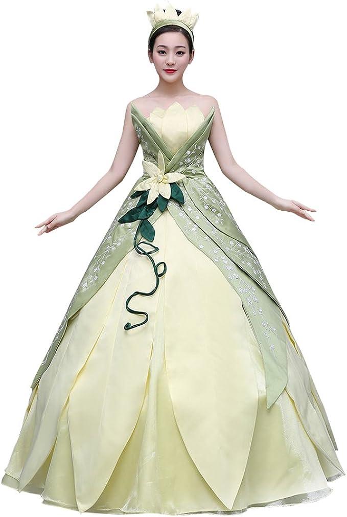 princess and the frog tiana dress
