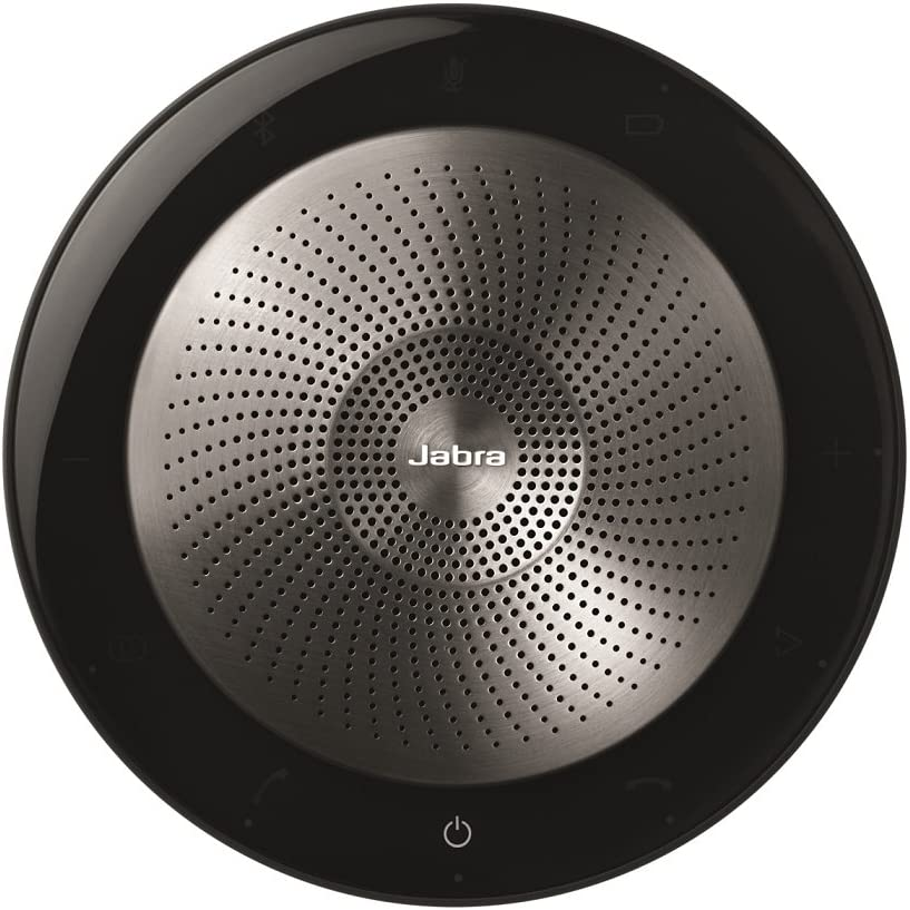 Jabra Speak 710 MS Wireless Bluetooth Speaker for Softphones and Mobile Phones Easy Setup, Portable Speaker for Holding Meetings Anywhere with Immersive Sound, MS Optimized