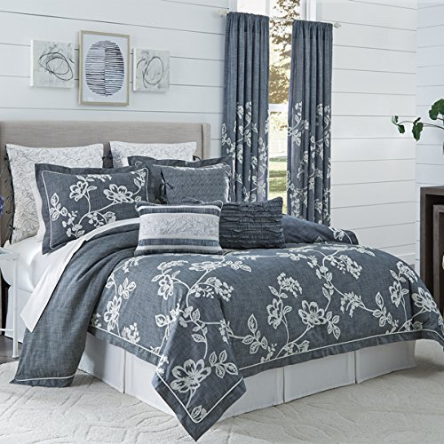 CROSCILL Lucine King Comforter Set, 4 Piece