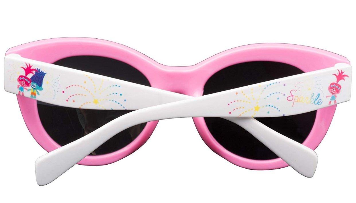 Dreamworks Trolls Poppy Love Fun Time Sunglasses - 100% UVA & UVB Protection (Pink Poppy Fun) by Dreamworks (Image #3)