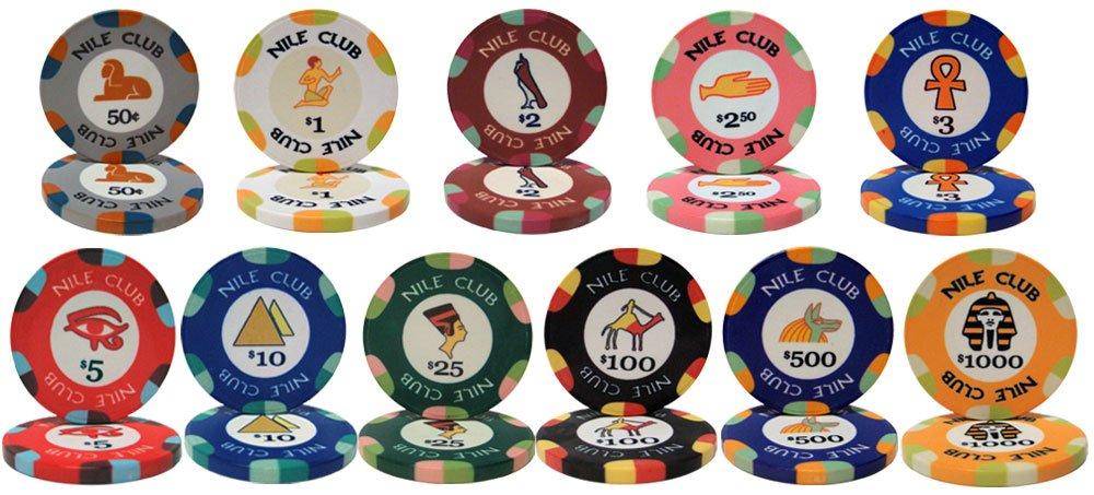 驚きの値段 25ナイルクラブ10 gmセラミッククレイPoker B003D8T7IC 25ナイルクラブ10 Chips – Chooseチップ Chooseチップ B003D8T7IC, 葛尾村:ff9835a6 --- efichas.com.br