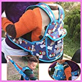 HOME CUBE® Baby Child Motorcycle Bike Bicycle Seat Safety Carrier Baby Dinning Chair Protection Safety Walking Leash Backpack Belt Strap - Random Color
