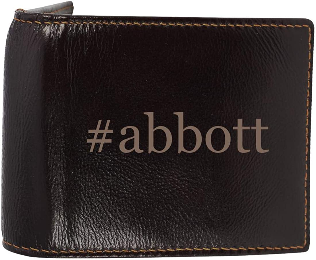 #abbott - Genuine Engraved Soft Cowhide Bifold Leather Wallet 61E-R23VQHL
