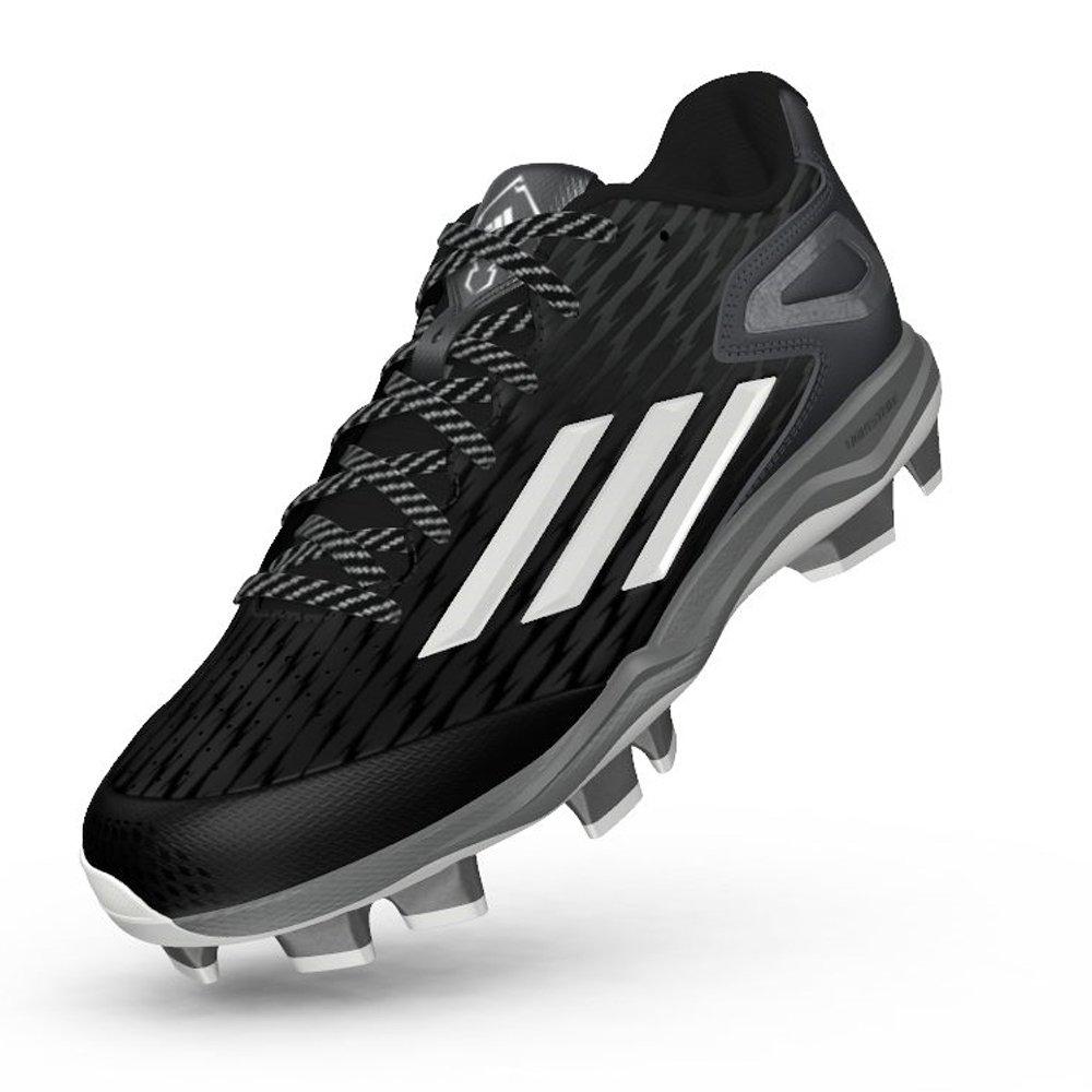Adidas Power Alley 3 Tpuブラック/ホワイト/グレー9.5 B01MDV3HDX
