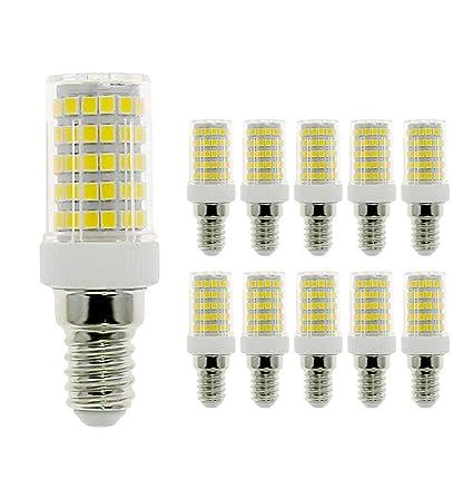 MENTA E14 bombilla LED 10W, equivalente a 80W, 800LM, Blanco Frío 6000K,
