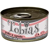 CROCI Tobias Dog Chicken with Lamb, 85 g, Pack of 24