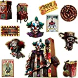 Halloween Side Show | Value Pack Cutouts